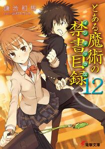 Toaru Majutsu no Index Light Novel v12 cover