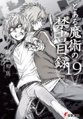 Toaru Majutsu no Index Light Novel v19 cover