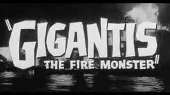 Godzilla Raids Again (Gigantis The Fire Monster) 1955 Trailer