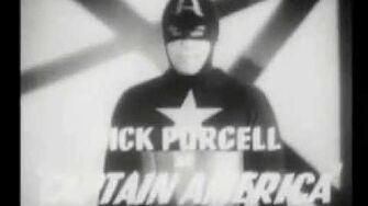 Captain America Serial 1944 - Trailer
