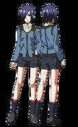 Touka anime design full view