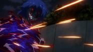 Ayato defending against bullets2