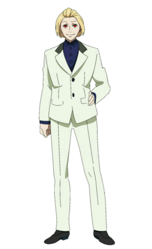 Naki anime design front view