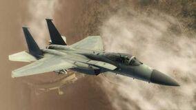 HAWX screenshot f15 eagle