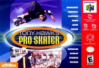Game Cover THPS N64