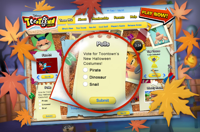 User blog kacperthehorse vote for toontown s new halloween for Toontown fishing guide