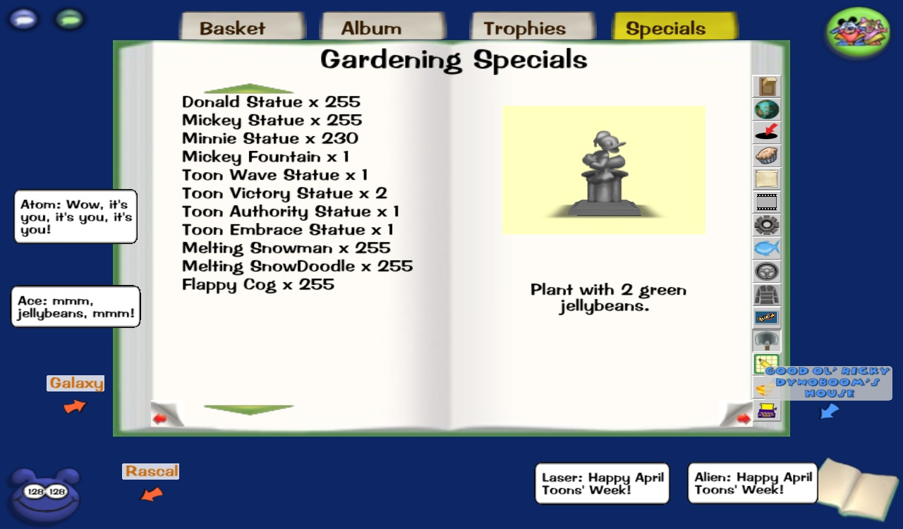 Flower Combinations For Toontown Free Image
