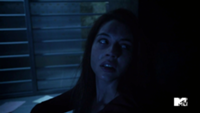 Teen Wolf Season 3 Episode 2 Adelaide Kane Cora First National Bank of Beacon Hills Vault