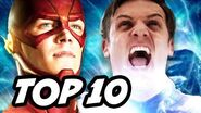 The Flash Season 2 Episode 18 vs Zoom - TOP 10 WTF and Easter Eggs