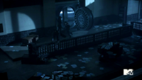 Teen Wolf Season 3 Episode 2 Boyd and Cora Escape the Bank