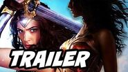 Wonder Woman Trailer - Stealing Godkiller Sword and Justice League Post Credits