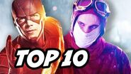 The Flash Season 3 Episode 14 - TOP 10 and New Flash Explained