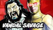 The Flash Season 2 - Vandal Savage Comic Book History