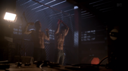 Teen Wolf Season 3 Episode 13 Anchors Derek and Peter are kept prisoners