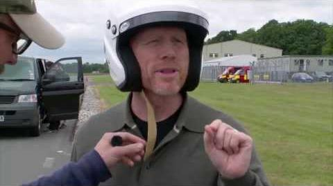 Ron Howard Lap - Behind the Scenes - Top Gear Series 20