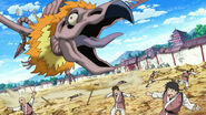 Chiyo's Beast attacking people