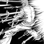 Match feels Toriko and Tommy fight