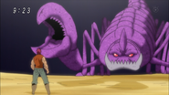 Zebra vs 8-Tailed Scorpion Eps 61