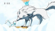 Battle Wolf with his child 2