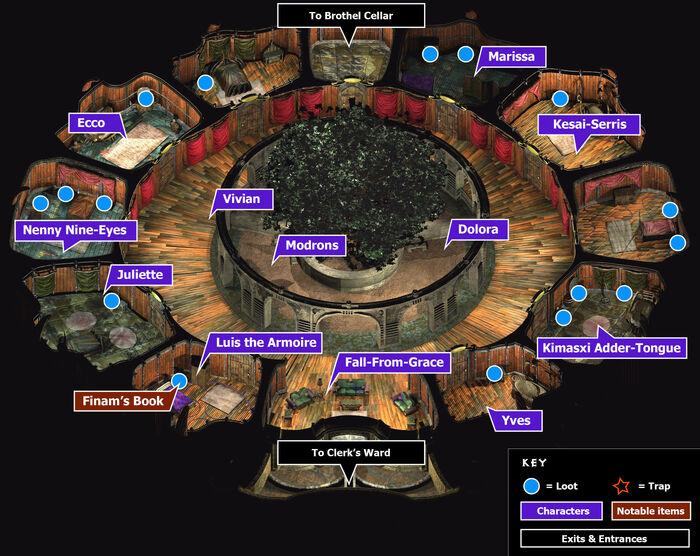 Brothel map