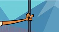 Stuck to a Pole 09