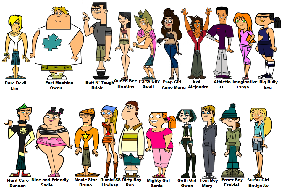 total drama il tour porno