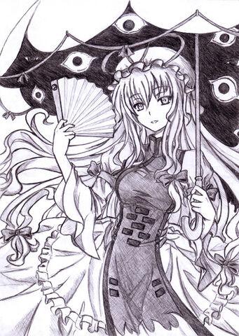 File:Yukari Yakumo by abyss crimson.jpg