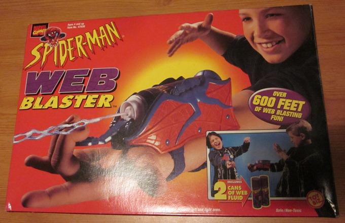 Web Spider Wiki Spider-man Web Blaster