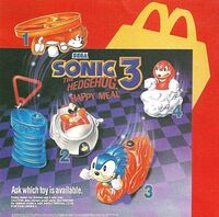 Sonic 3 Happy Meal