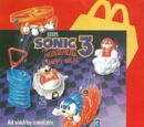 Sonic the Hedghog 3 (McDonald's Happy Meal)