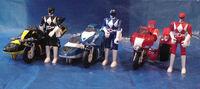 Power Ranger Battle Bikes