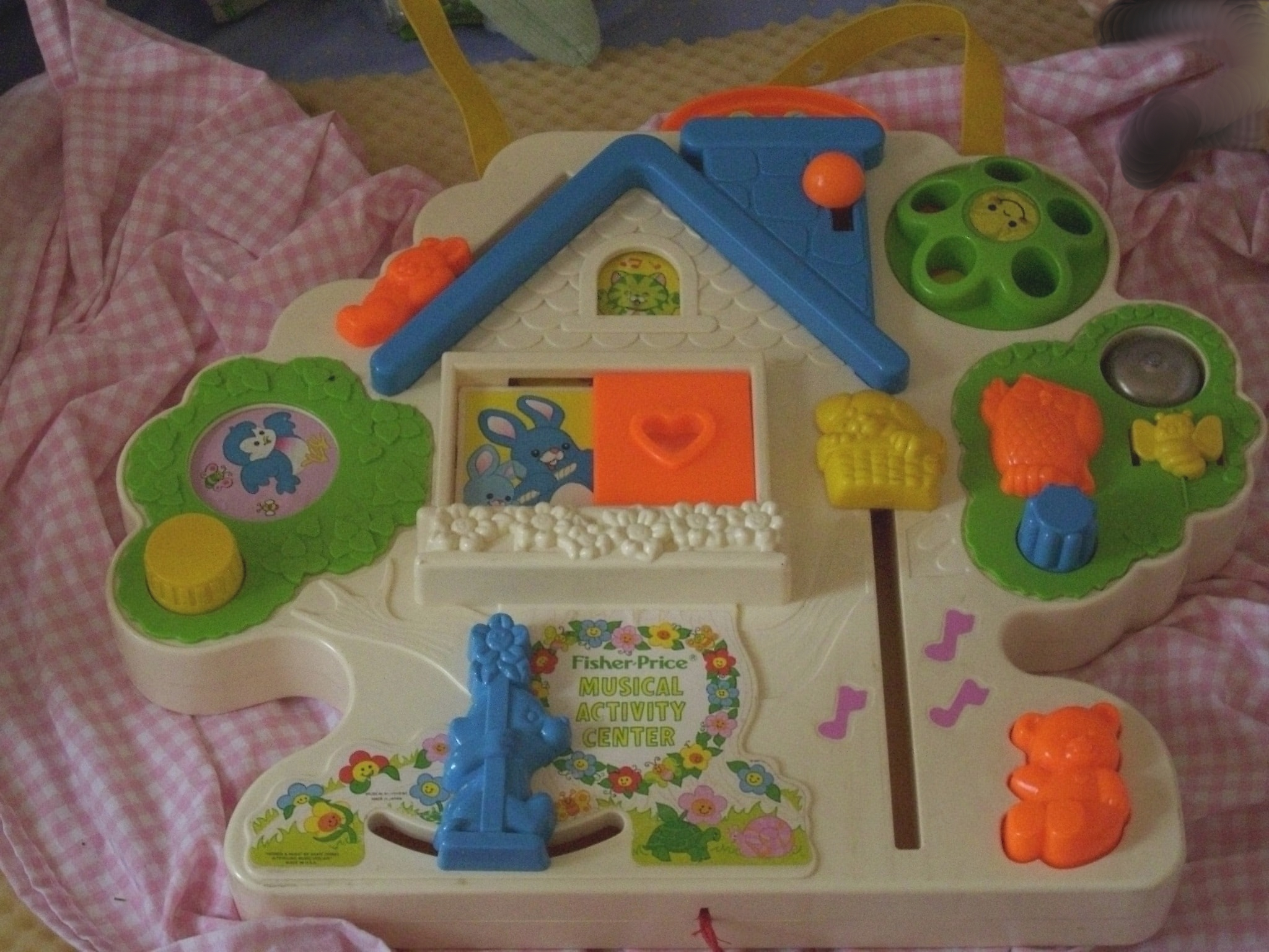 Crib activity toys for babies - Fisher Price Crib Activity Center House