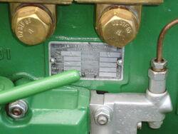 LePercheron manufacturers plate-P8100527