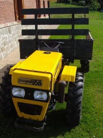 Pasquali 958e tractor construction plant wiki fandom powered by wikia - Pasquali espana ...