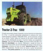 Zanello Z-Trac 1800 4WD-2001
