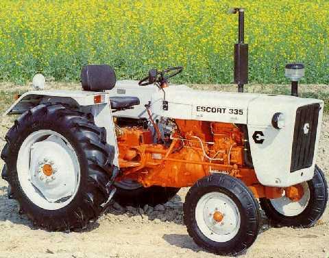 escort 355 tractor