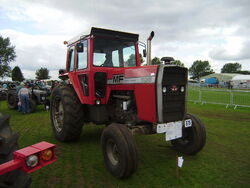 Massey Ferguson 1135 - PDO 268R at Lincoln 08 - P8170545