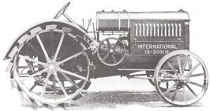 International 15-30 Gear Drive 1922