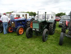 Fordson tractors pair
