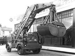 1965 TAYLOR JUMBO 3T 4WD Loader Diesel