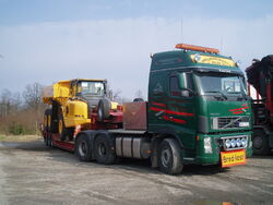 FH12 A30E semi-trailer