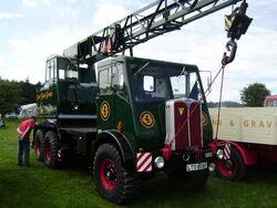 AEC chassie with Coles crane
