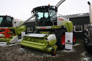Claas Jaguar forager at lamma 2013 IMG 6276