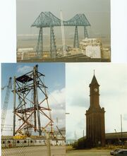 Cranes and unusual structures - Middlesborough