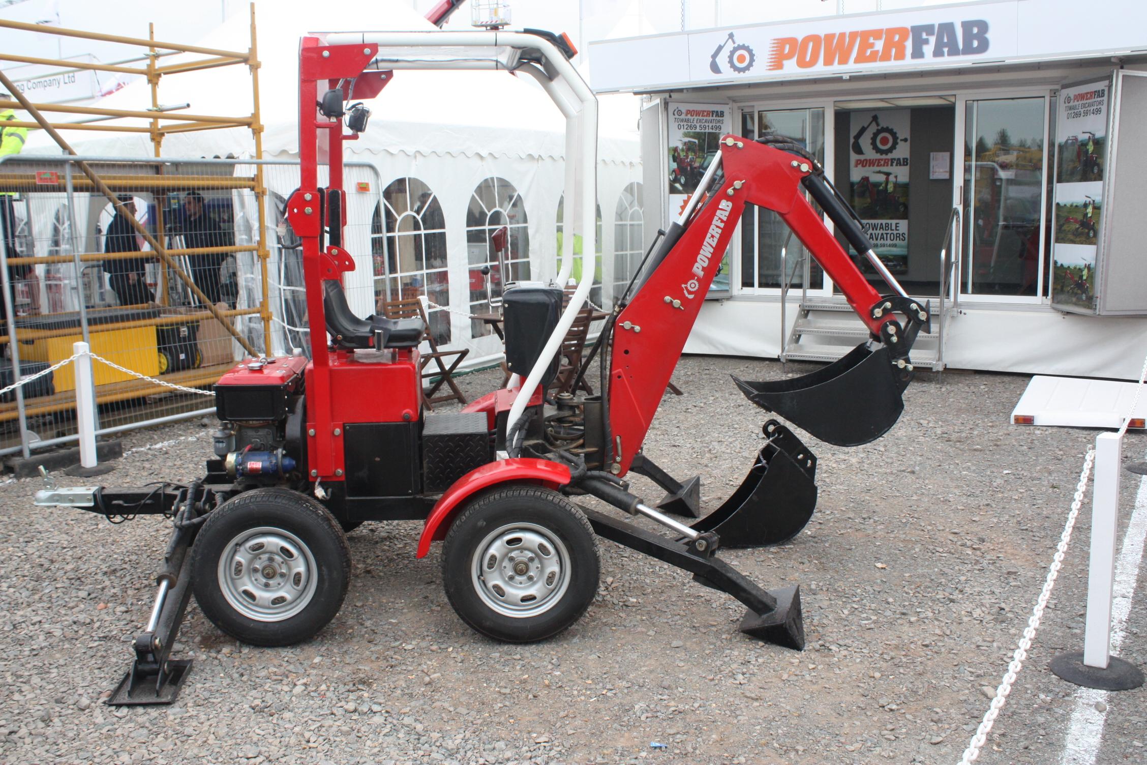 towed excavators tractor construction plant wiki fandom new powerfab excavator sed 09 8359