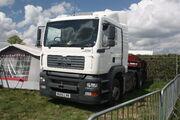 MAN TGA 26.390 truck - BU05 LRN at Rushden 2010 - IMG 9310