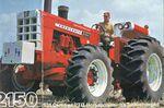 Cockshutt 2150 MFWD brochure - 1968