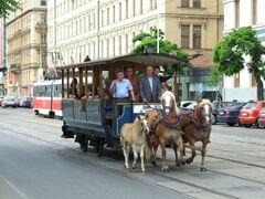 Brno, Brno Město, historická koňská tramvaj