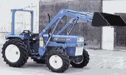 Rhino International 344 MFWD w loader - 1997