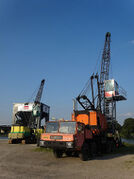 Priestman crawlercrane and cranetruck